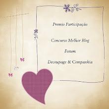 Prémio de Participação Concurso Melhor Blog