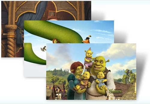 Shrek Windows 7 Theme Gratis