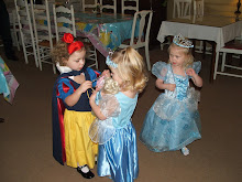 Elise's Princess Tea Party: Elise and Bree were Cinderella