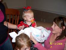 Bree holding Olivia