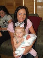 Holding Baby Austin