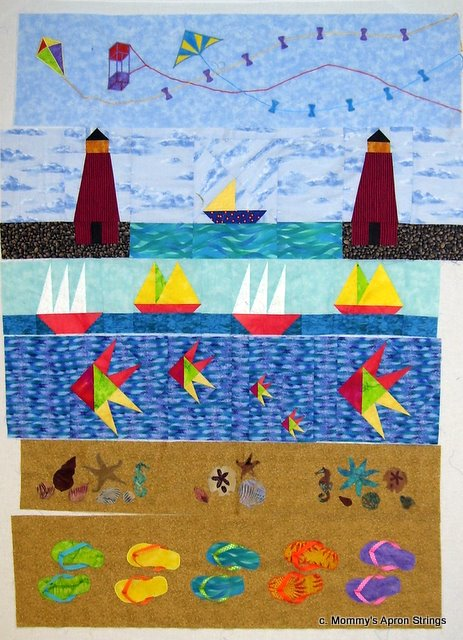 Quilting Patterns Beach Theme : Mommy s Apron Strings: Friendship & Quilting
