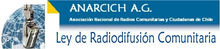 Ley radiodifusion comunitaria chile