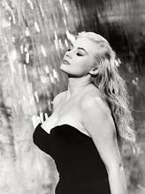 Anita Ekberg em La dolce vita, de Federico Fellini.