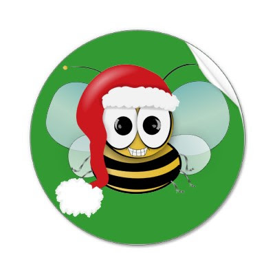 merry christmas bee