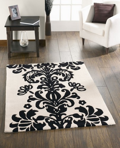 for a great black and white rug on the cheap anyone anyone