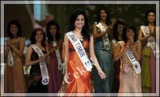 foto sandra angelia, miss indonesia 2008, seksi dan cantik