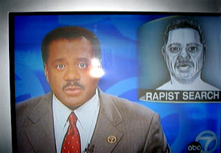 tv rapist search man weird