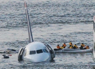 quick rescue passengers us airways plane crash hudson new york