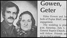 funny and weird marriage names gowen geter and sad looking photo of engaged couple picture