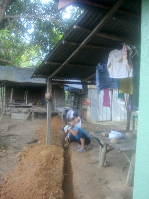 Construction crew in Guimaras in the Philippines