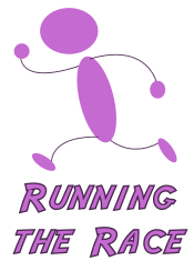 [Running the Race logo]