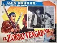 ZORRO O VINGADOR - 1962