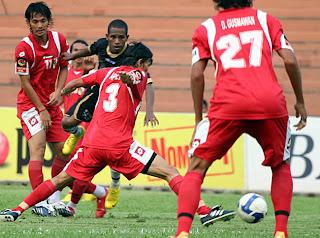 Foto Pemain PSPS di Copa, Piala Indonesia 2010