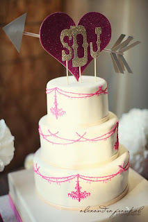 sweet cakes by rebecca - ppink chandelier