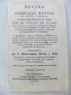 Novena Virgen Ayago Portada