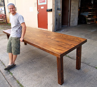 FORWARD THINKING FURNITURE Community Table For Starbucks In Kona HI - Community table furniture