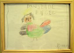 Dansende engel