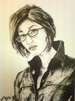 portrait aku lukis...