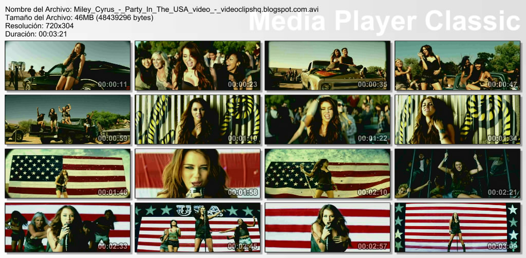 Party In The Usa Video Clip Youtube 114