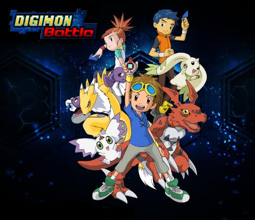 Digimon Battle RPG jogo monstros