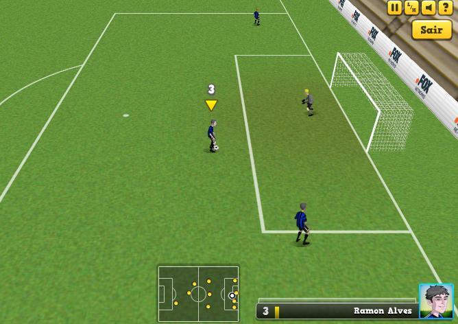 Bola Social Soccer campo jogadores