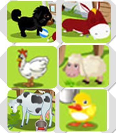 Colheita Feliz animais orkut