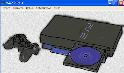Imagem do Emulador Playstation II NeutrinoSX 0.8.1