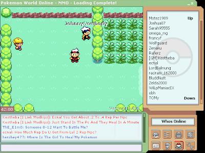 jogo Pokemon World Online