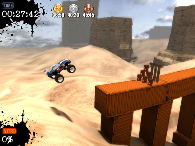 Monster Truck Challenge game PC