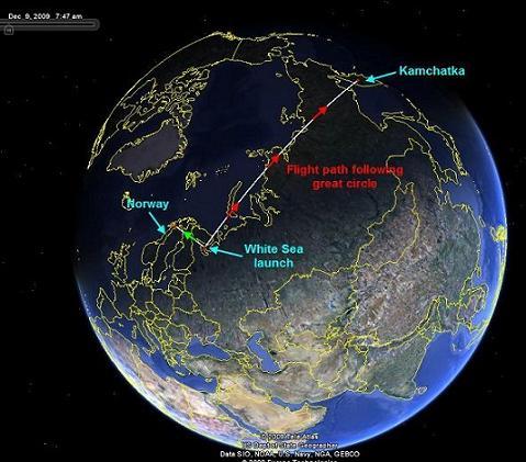 Luz Misteriosa en el Cielo de Finnmark (Noruega) (2ª parte)