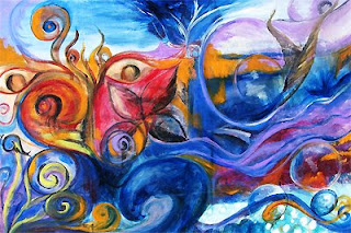 Beauty of Water Collaborative Painting