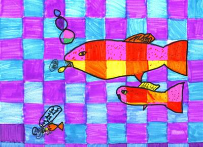 Warm And Cool Color Project 4th Grade