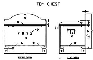 Build Your Own Wooden Toy Box