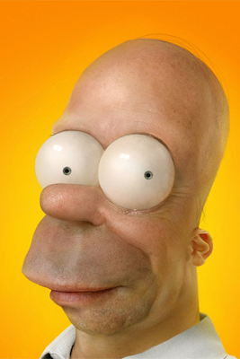 real homer simpsons