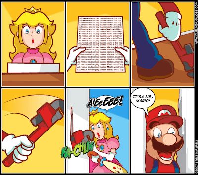 Mario The Shining