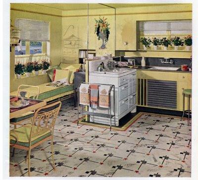 1940S STYLE KITCHEN KITCHEN DESIGN PHOTOS