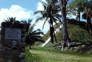 ruinas mayas belice