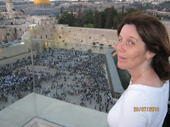 Overlooking the Western Wall