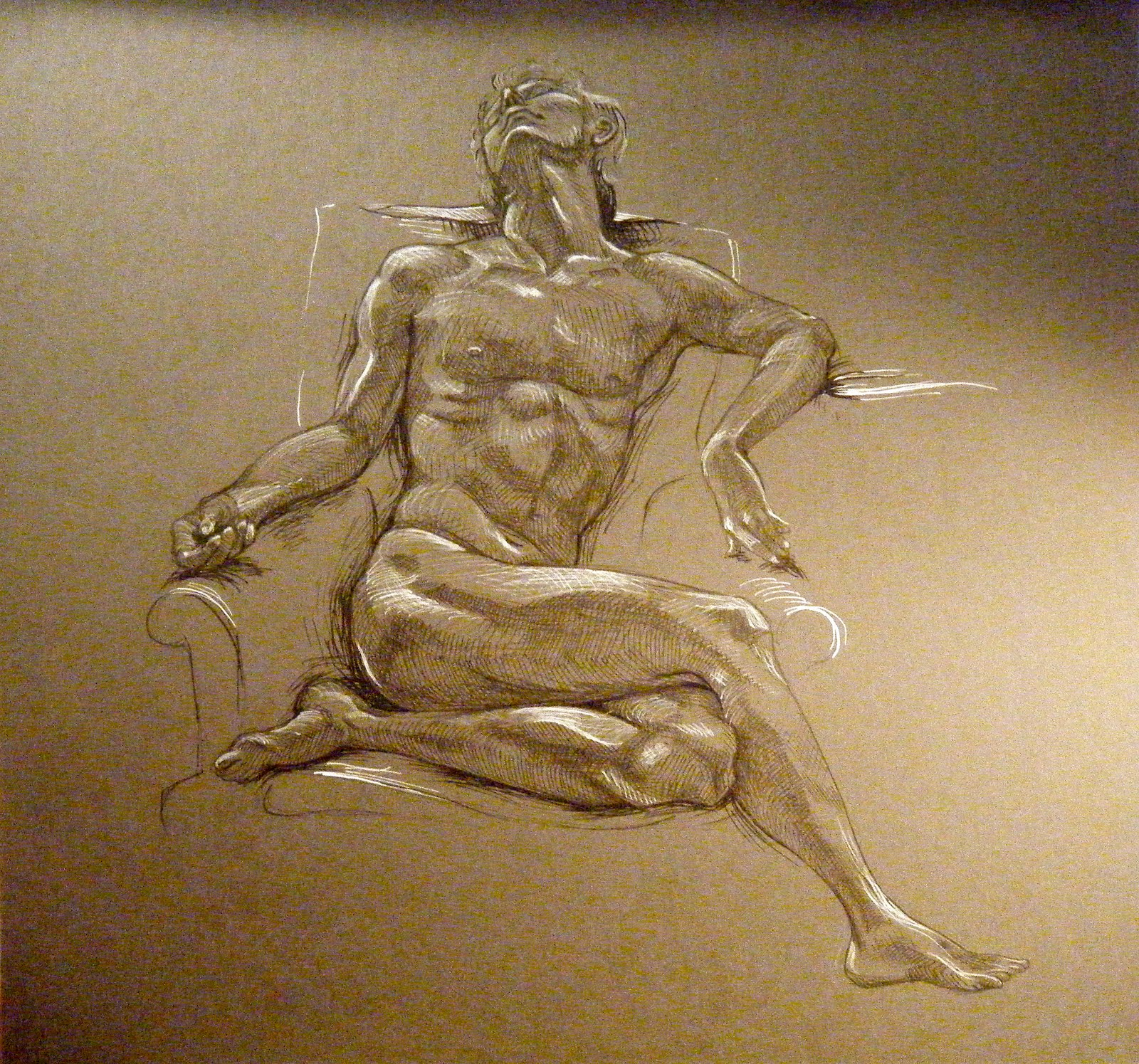Paul Cadmus Figure Drawings