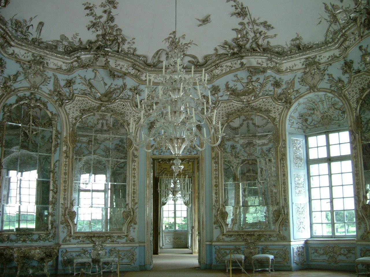 Historia del mueble y de la decoraci n interiorista 13 for Salon de espejos