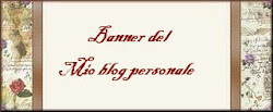 Il mio banner del blog personale