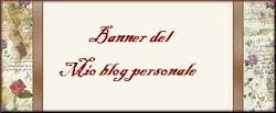 Il mio banner del blog personale