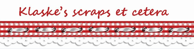 Klaske&#39;s scraps et cetera