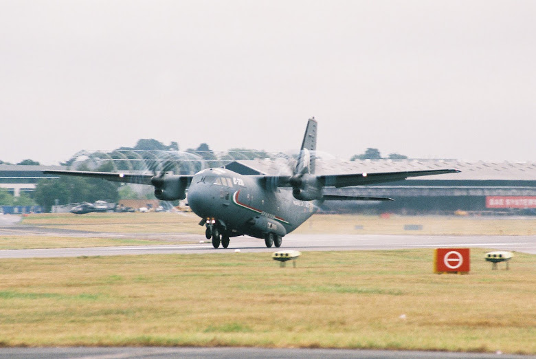 C-27 Spartan Farnborough 2010