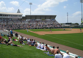 View of the Field where the Minnesota Twins have Spring Training