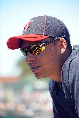 Twins third basemen Danny Valencia