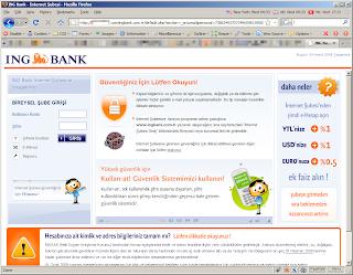 ing bank internet şubesi