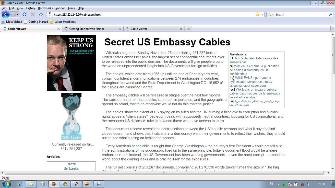 What S Wrong With Wikileaks Manajemen Tedy