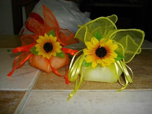 Bomboniere Girasoli Matrimonio : La magia dei ricordi by manuela bomboniere girasole per